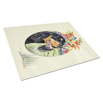 Carolines Treasures  SS8056LCB Gordon Setter Glass Cutting Board Large