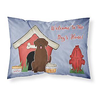 Dog Haus Sammlung Chocolate Labrador Stoff Standard Kissenbezug