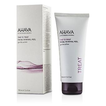 Ahava Time To Treat Facial Renewal Peel - 100ml/3.4oz