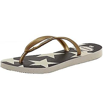 Havaianas Womens Slim Stars and Stripes Sandal
