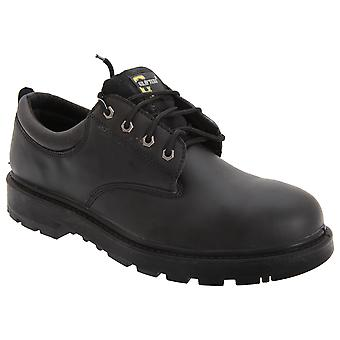 Grafters Mens Contractor 4 Eye Safety Shoes