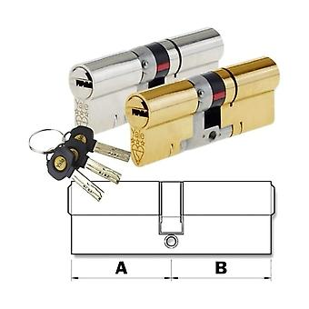 Yale Yale Euro Cylinder Door Lock AS Platinum TS007 3* Star