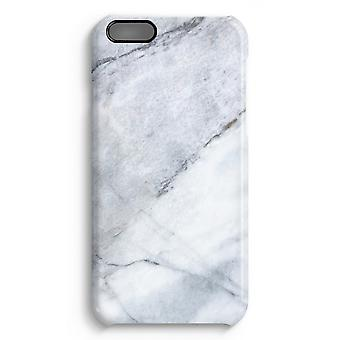 iPhone 6 Plus Full Print Case (Glossy) - Marble white