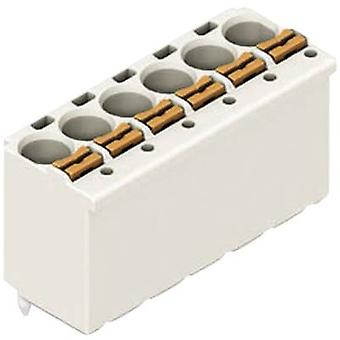 Receptacles (standard) 2091 Total number of pins 4 WAGO 2091-1174 Contact spacing: 3.50 mm 1 pc(s)