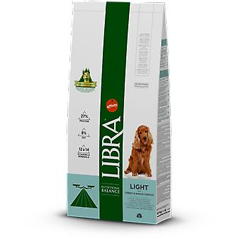 Libra Dog Cibo Secco per Cani Adult Light di Tacchino e Cereali Integrali