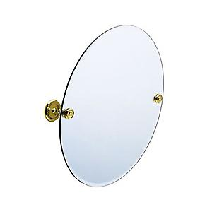 Villa Brass Mirror Wallmount V210