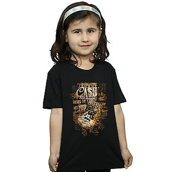 Johnny Cash Girls Guitar Song Titles T-Shirt