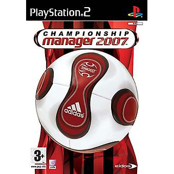 Championship Manager 2007 (PS2)