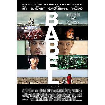 Babel filmposter (11 x 17)