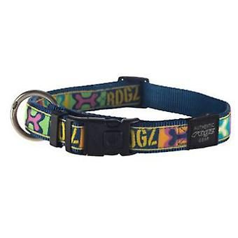 Rogz HB03 Collar Rogz Beach Bum-Bw (Dogs , Collars, Leads and Harnesses , Collars)