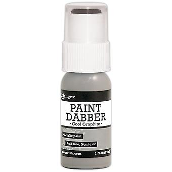 Paint Dabbers 1oz-Cool Graphite