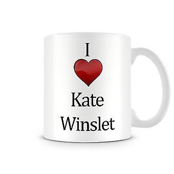 I Love Kate Winslet Printed Mug
