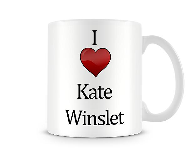 I Love Kate Winslet Printed Mug