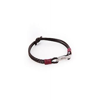Ted Baker Womens Ivvry Knotted Leather Bracelet