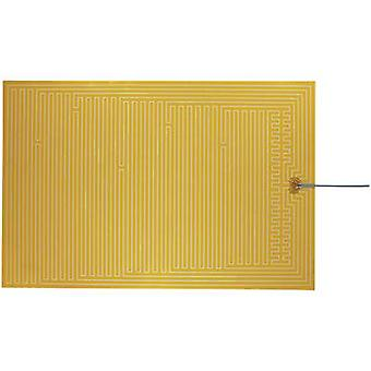Thermo Polyester Heating foil self-adhesive 24 Vdc, 24 V AC 50 W IP rating IPX4 (L x W) 600 mm x 400 mm