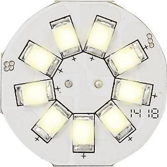 Sygonix LED EEC A (A++ - E) G4 Pen 1.5 W = 10 W Warm white (Ø x L) 23 mm x 17 mm 1 pc(s)
