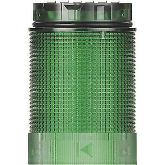 Signal tower component LED Werma Signaltechnik KombiSIGN 40 TwinLIGHT Green Non-stop light signal, Flasher 24 V AC, 24 Vdc