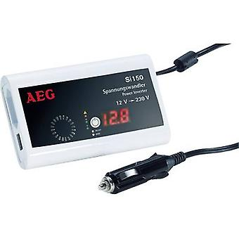 AEG Si 150 Inverter 150 W 12 Vdc - 230 V AC, 5 Vcc sin ventilador
