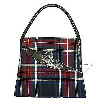 Tartan Handbag Lucy (Stewart Black)
