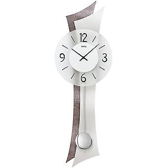Настенные часы настенные кварцевые часы с маятником деревянной задней стенки минерального стекла алюминия