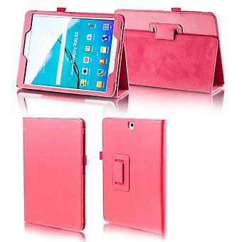 For Samsung Galaxy tab A-10.5 T590 T595 red faux leather case cover pouch case new