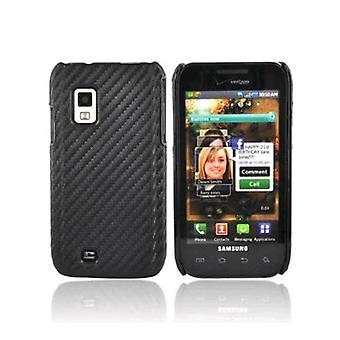 Verizon Snap-funda para Samsung Galaxy S Fascinate i500 - grafito negro (a granel