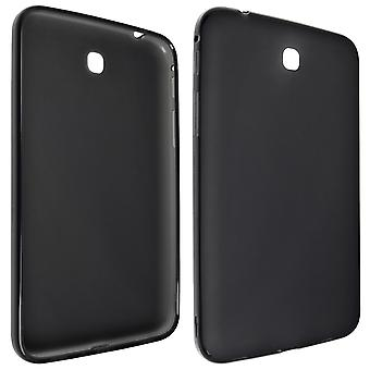 Technocel High Gloss Slider Gel Case for Samsung Galaxy Tab 3 - Black