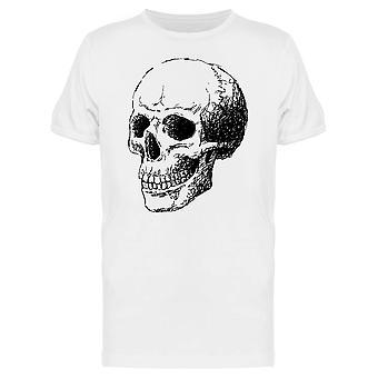 Ink Style Skull Tee Men's -Image by Shutterstock