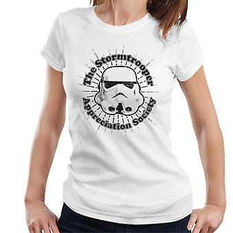 Original Stormtrooper Appreciation Society Women's T-Shirt