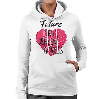 Future Mrs Jensen Ackles Women's Hooded Sweatshirt