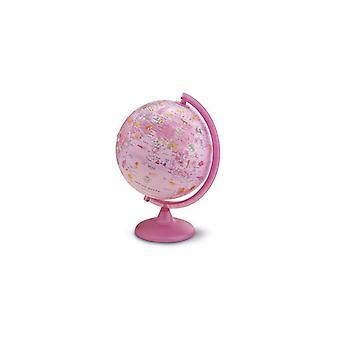 Globe Globe GB Pink Zoo with lights 25cm