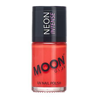 Moon Glow - 14ml Neon UV Nail Varnish - Intense Red
