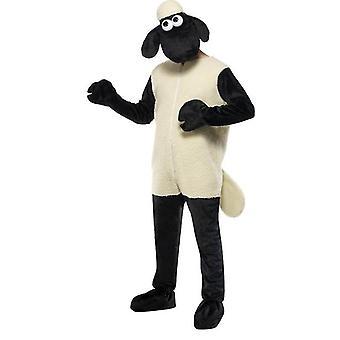 El traje de oveja Shaun.  Un tamaño