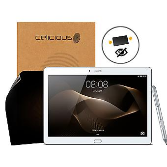 Celicious Privacy 2-Way Anti-Spy Filter Screen Protector Film Compatible with Huawei MediaPad M2 10