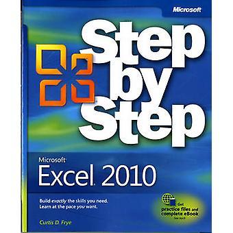 Microsoft Excel 2010 Step by Step by Curtis D. Frye - 9780735626942 B