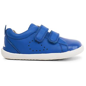 Bobux Step Up Boys Grass Court Shoes Sapphire Blue