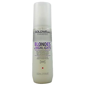 GOLDWELL dual senses blondes & highlights anti-yellow DS serum 150 ml spray