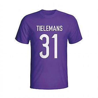 Youri Tielemans Anderlecht Hero T-shirt (purple)