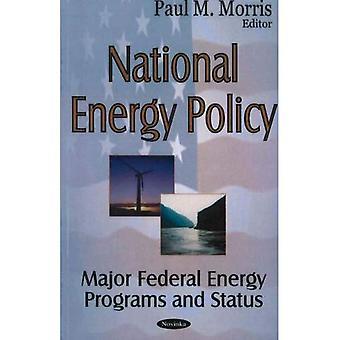 Nationale Energiepolitik: Major Federal Energy Programme und Status