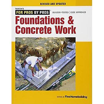 Fondations et travaux de béton