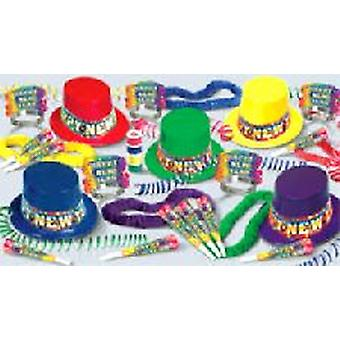 Rainbow Blast New Years Eve Pack For 10 People
