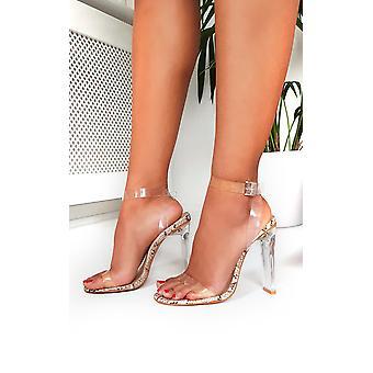 IKRUSH dame Tempany knap der plexiglas hæle