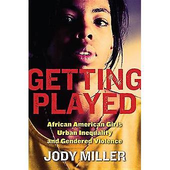 African American meisjes stedelijke ongelijkheid krijgen gespeeld en seksegerelateerd geweld door Miller & Jody