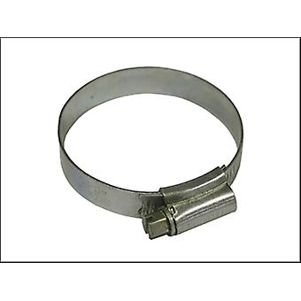 Faithfull 2x Hose Clip - Zinc Mszp 45 - 60mm