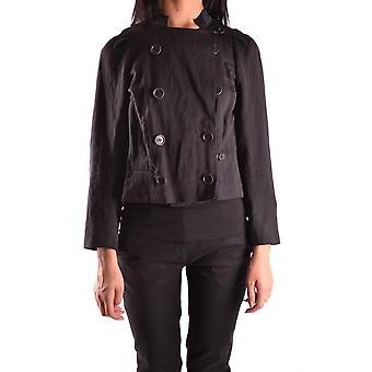 Dries Van Noten Black Cotton Outerwear Jacket