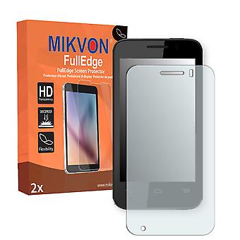 Vodafone Smart 4 mini screen protector - Mikvon FullEdge (screen protector with full protection and custom fit for the curved display)