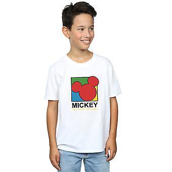 صحيح الأولاد ديزني ميكي ماوس 90s تي شيرت