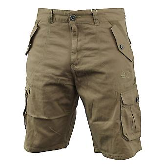 Men chinos cargo short crosshatch thorley