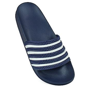 Sandrocks Womens/Ladies Striped Flip Flops