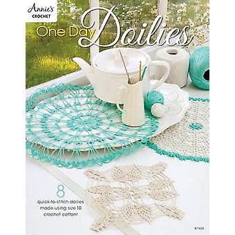 One Day Doilies - 8 Quick-to-Stitch Doilies Made Using Size 10 Crochet